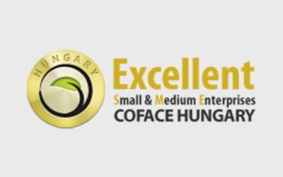 Köszönjük az elismerést a COFACE Hungary-nak